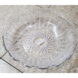CLEAR PATTERN PLASTIC TRAY