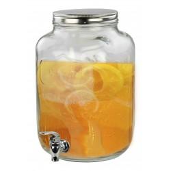 8L BEVERAGE DISPENSER W/ TAP GLASS