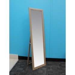 "EASEL BACK MIRROR NATURAL 11"" x 47"""