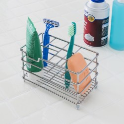 BATHROOM CADDY ORGANIZER CHROM
