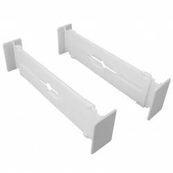 2PC ADJUSTABLE DRAWER DIVIDERS 21.75 x 2.00 x 3.50