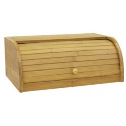 BREAD BOX BAMBOO 16in x 11in x 6.5in
