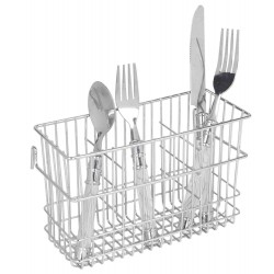 Wire Cutlery Holder (Chrome)