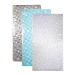 PVC BATH MAT TRANSPARENT ASST