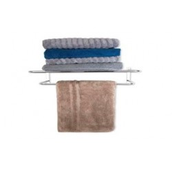 BATH SHELF w/TOWEL BAR
