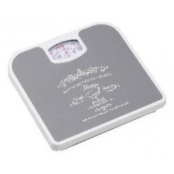 BATHROOM SCALE PARIS GREY