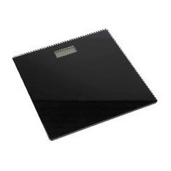 GLASS BATHROOM SCALE BLACK