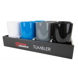 TUMBLER IN PDQ (PLASTIC-ASST)