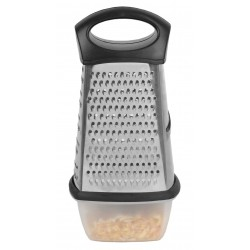 4-SIDED S/S CHEESE GRATER COLLECTOR