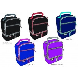 Polar Pack Rectangular Bottom Compartment Insulated Cooler Asst.