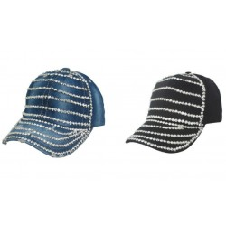Hats Assorted Denim,Black