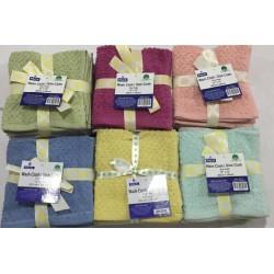 6 Pack Wash Cloth/ Dish Cloth (12x12)