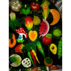 Vegetables and Fruit Magnet Assorted