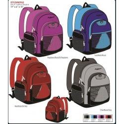 "Backpack Asst. Colors 18""x6""x13"