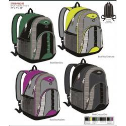 """Backpack W/LAPTOP FEATURE Asst. 19""""x6""""x13"""""""