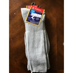 1PK Diabetic socks 9-11 GREY