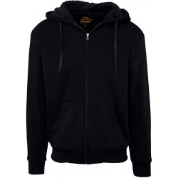 Hoodie with Zipper and Fur
