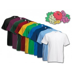 Fruit Of the Loom Crew Neck T-Shirt SMALL (Asst. Colors)