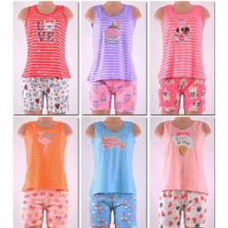 Lady's PJ Set  Tank Top and Shorts  (S-XL)