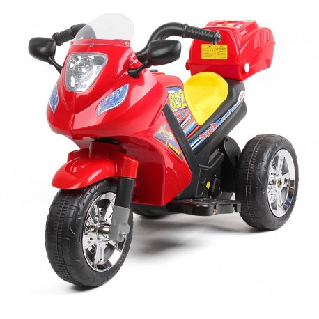 Rechargeable 6V Battery Operated Junior Motor Bike (Red)