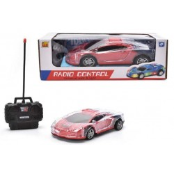 RC Car With Lights (RED)
