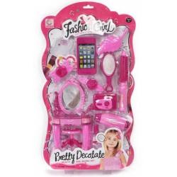 Accessories Set Pink