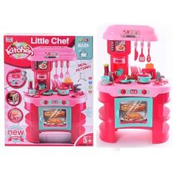 Little Chef Kitchen Set Light/Music 23x148x6