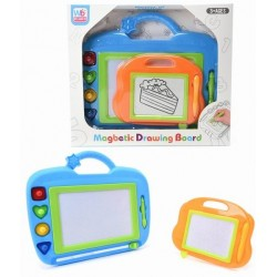 """MAGNETIC DRAWING BOARD BLUE/PINK 12.00""""x10.50""""x1.50"""""""