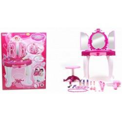 Infrared Induction Dresser Set Pink 28.50''×15.00''×22.75''