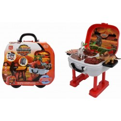 """Dino Park Trolley Case Red 26""""×11""""×27"""""""