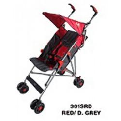 Umbrella Stroller (Red/Grey)