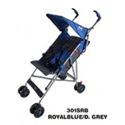 Umbrella Stroller (Blue/Grey)