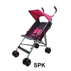 Umbrella Stroller (Pink/Grey)